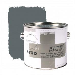 Matte Muurverf Steel Blue