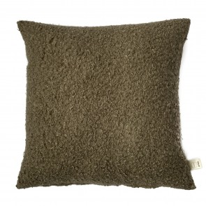 Kussen  Boucle taupe 50/50 cm