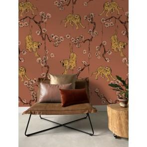 Digital wallpaper Panther Pink
